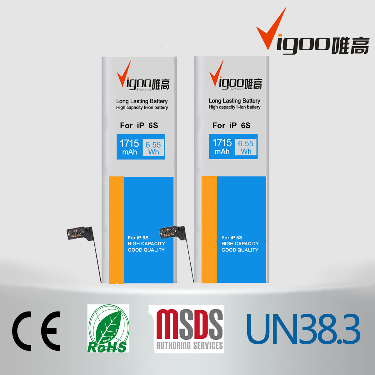 Mobile Phone Battery for Samsung Galaxy S3 Mini I8160 Eb425161lu