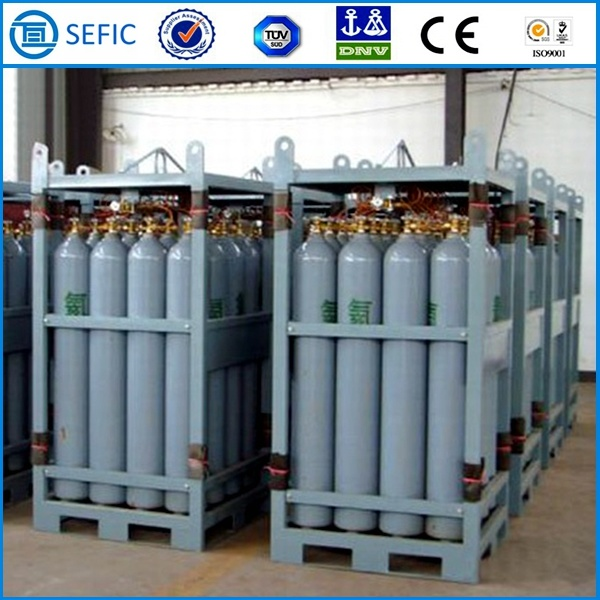High Pressure Bottle Rack : China platform used high pressure oxygen argon nitrogen