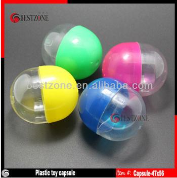 Vending Machine Plastic Empty Capsules (capsule-33*35)