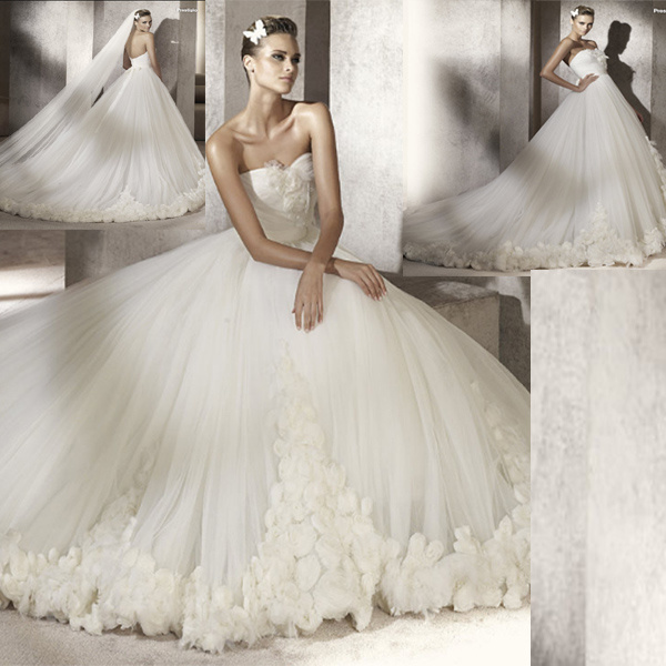 Romantic Bridal Gowns : Romantic bridal wedding dresses