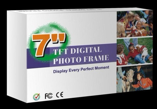2015 New Price 7 Inch Full Function Digital Picture Frame