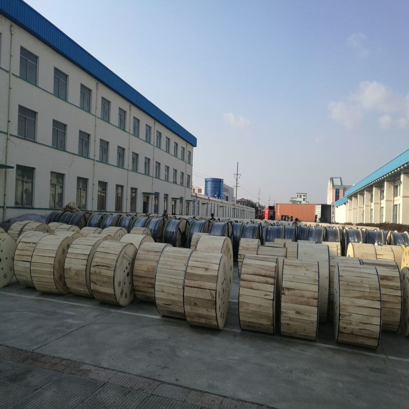 Outdoor Aerial Self Supporting 8 Core Optical Fiber Cable
