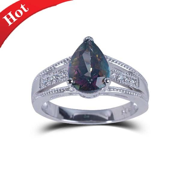 The New Fashion Jewelry Ring Fashion Jewelry Natural Stone