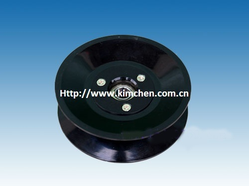 Plastic flanged Ceramic Roller  ceramic pulley guide