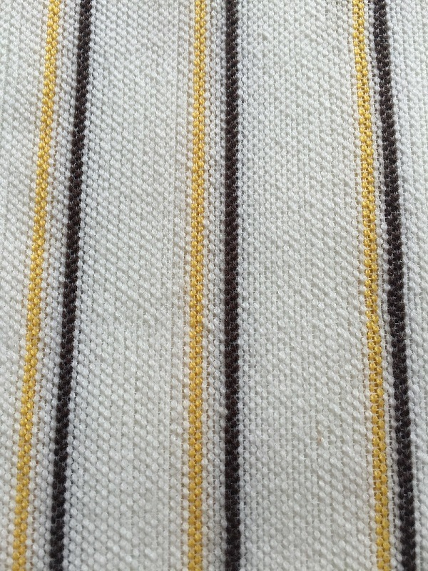 Yellow and Black Paint Roller Fabric