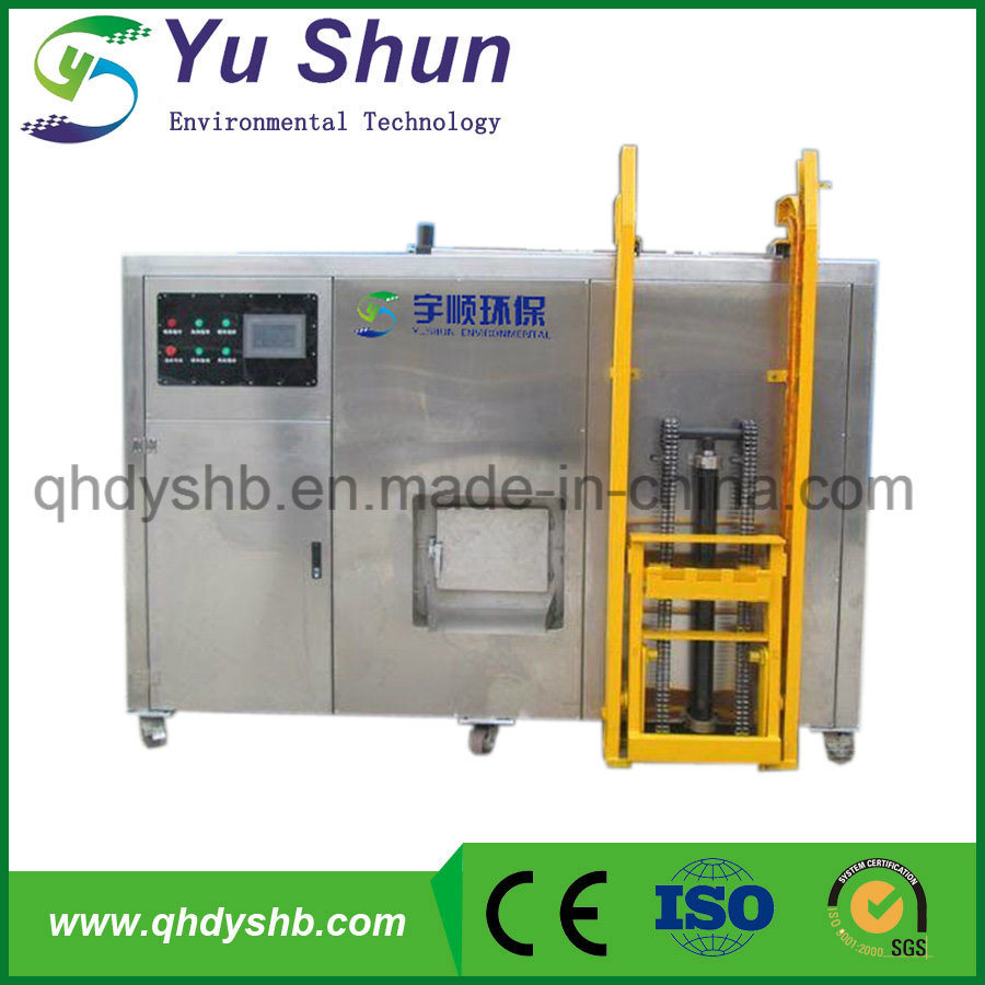 100kg Per Day Handling Capacity Food Waste Composting Machine