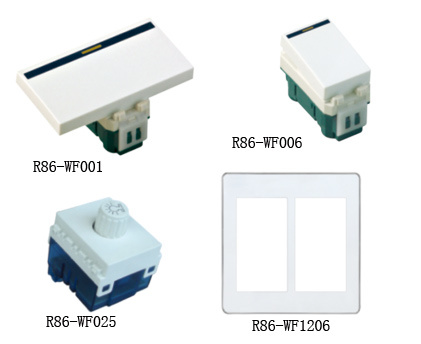 Wall Switch and Socket (R86-WF Functional Parts)