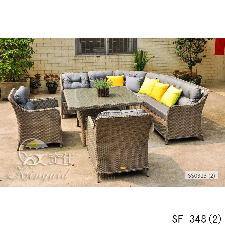 Rattan Sofa, Outdoor Furniture Sf-348