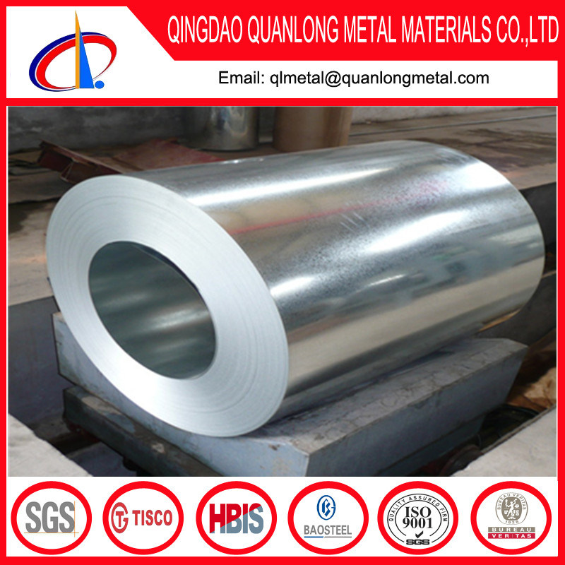Hot Dipped Dx51d Dx52D Galvanized Steel Coil
