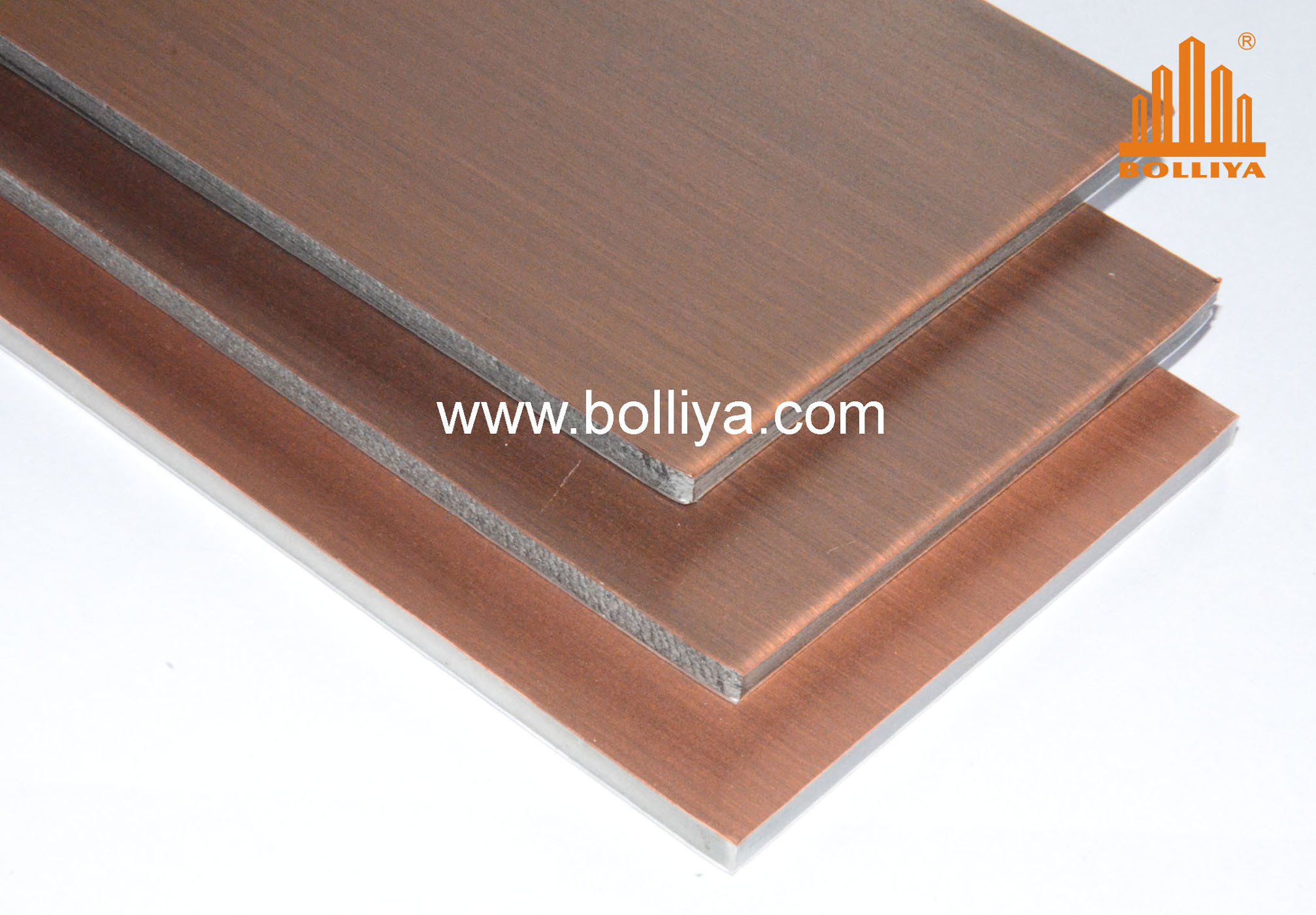 Copper Composite Panels / Copper Sheets / CC-005 Dark Brown Brush