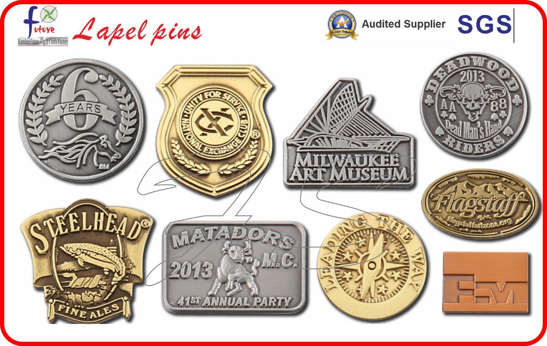 Wholesale Hared Enamel Pin Badges Lapel Pins Metal Badges