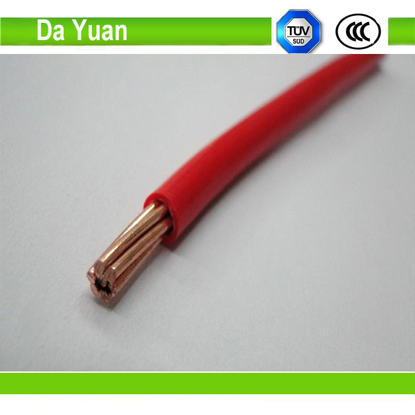 UL63 Fire Resistant Thw/Thhw/Thw-2 Thwn 10AWG 100% Copper Electric Cable