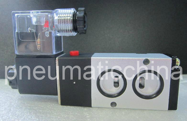 Pneumatic Solenoid Namur Valve (4M Series) Panel Mounted Valve