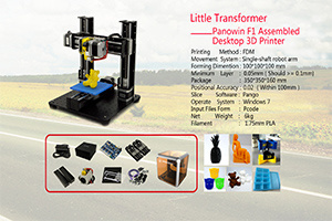 Three-in-One DIY Desktop Metal 3D Printers for Education and Toy