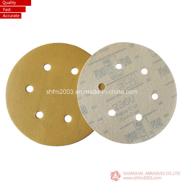 "5"" & 6"" Magic Tape Backed Disc for Metal (Professional Manufacturer)"