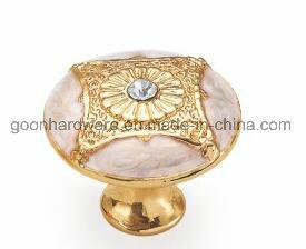 Zinc Classical Furniture Cabinet Kitchen Knob Handle G08226