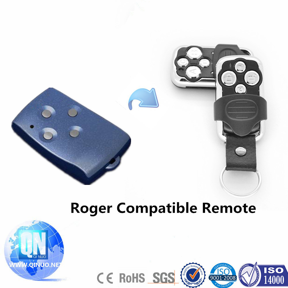 Roger Technologies Compatible Electric Gate Remote Keyfob