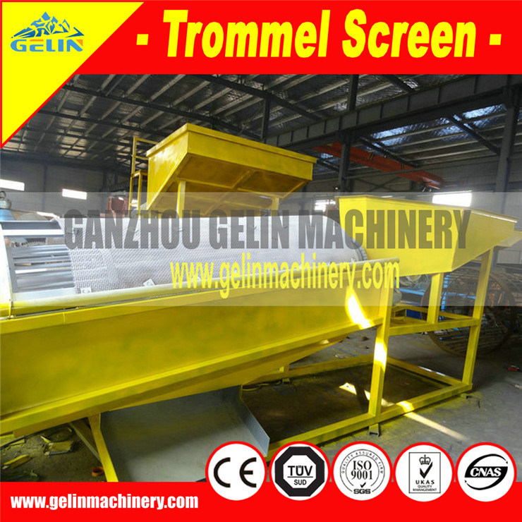 Alluvial Gold Mining Machine, Mobile Gold Mining Equipment