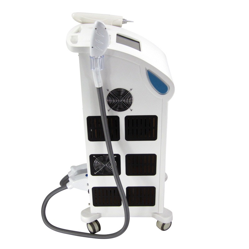 Vertical Hair Removal Machine with 2 Handles (Shr + Laser)