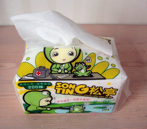 Silk Soft Facial Tissue Paper