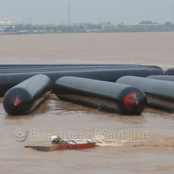 Rubber Floating Pneumatic Inflatable Ship Marine Rubber Balloon for Launching Landing, Lifting