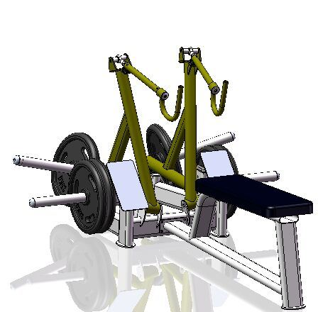 Seated Row, Inotec Seated Row, Seat Row, Row Machine, Pull Machine, Long Pull Machine