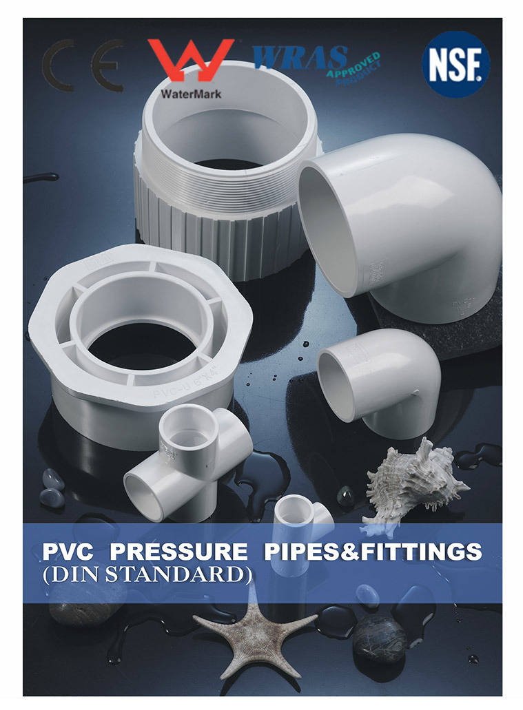UPVC Pipe Fitting (DIN STANDARD Fitting)