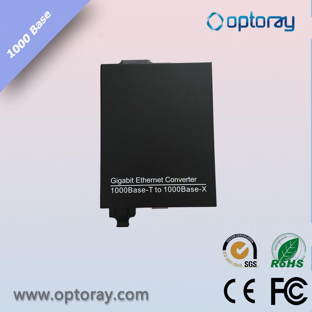 10/100/1000m External Power Media Converter