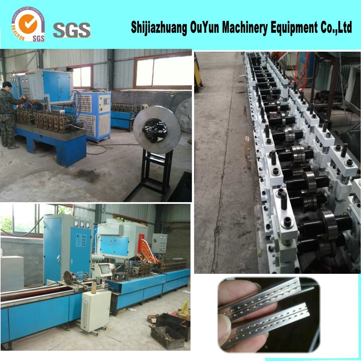High Frequency Hollow Glass Aluminum Production Line for Window