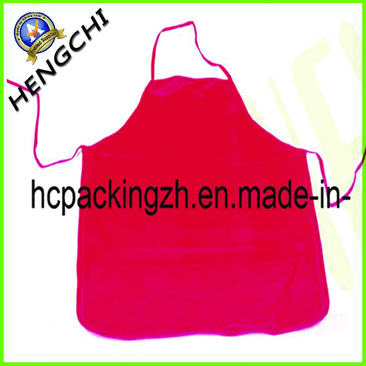 Non Woven Apron Customized Logo Design/Twill Cotton Cloth Apron