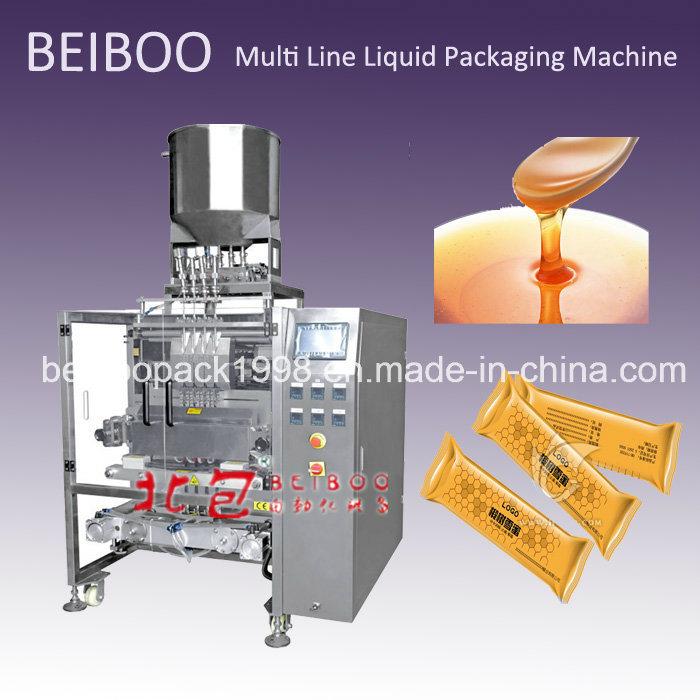 Automatic Multi-Line Liquid Back Sealing Bag Packaging Machine