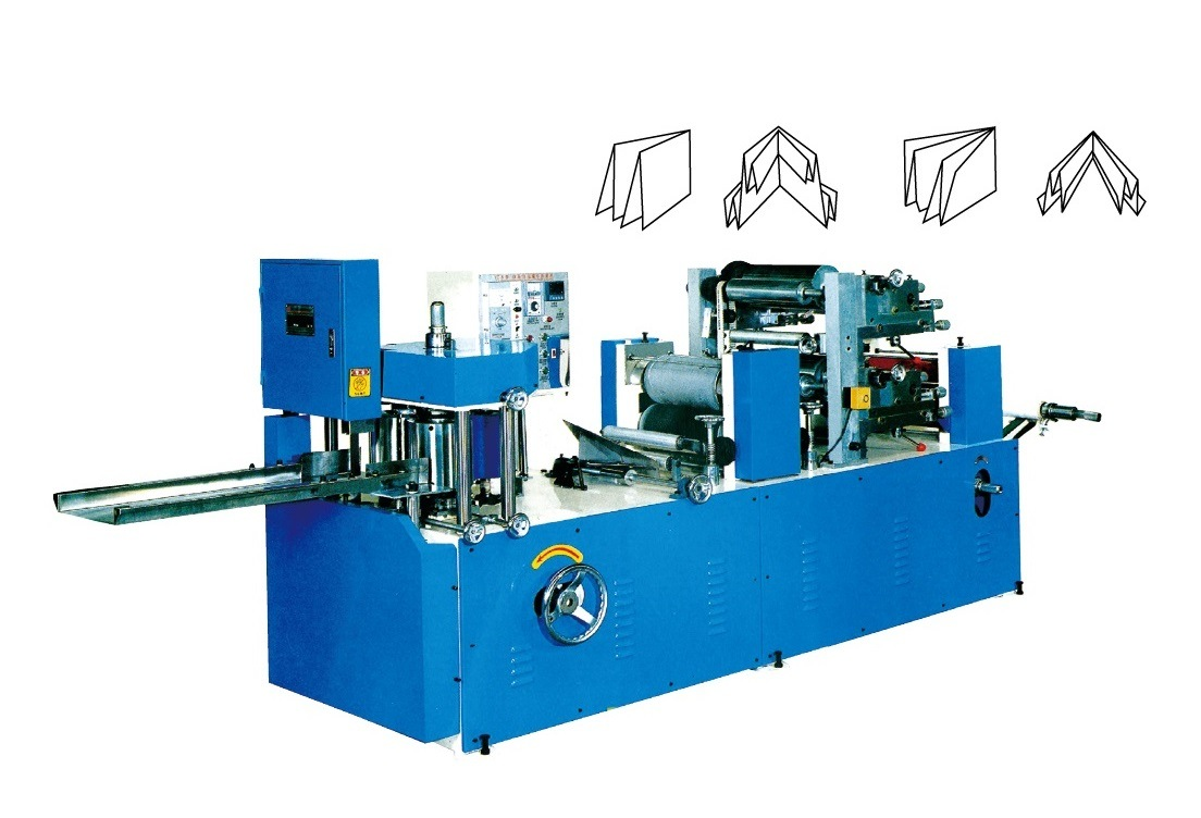 Printed/Embossed Napkin Folder Paper Finish Machine Paper Machine