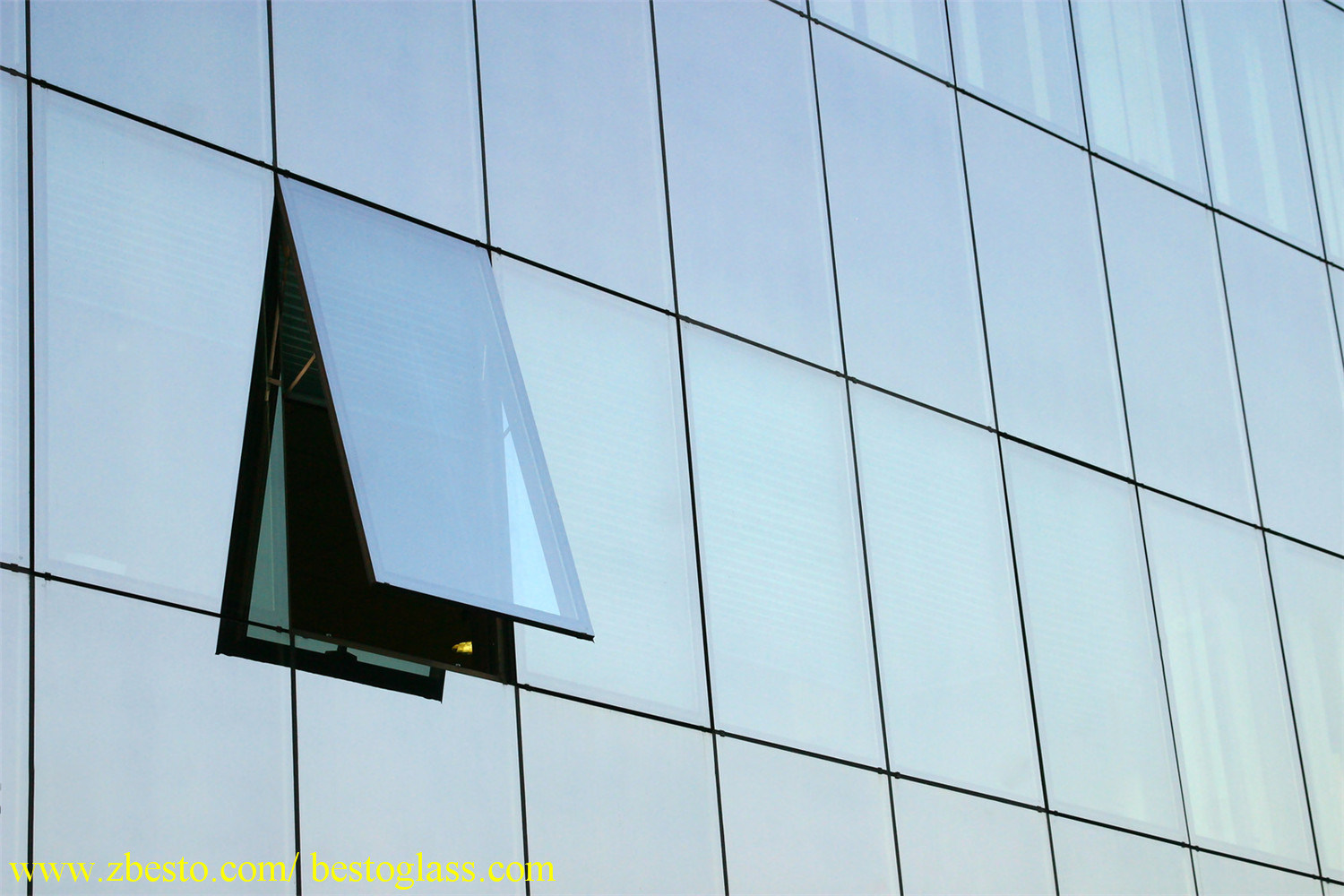 Customized Glass Curtain Wall Manufacturer (LOW-E/Tempered/Laminated/Insulated glass)