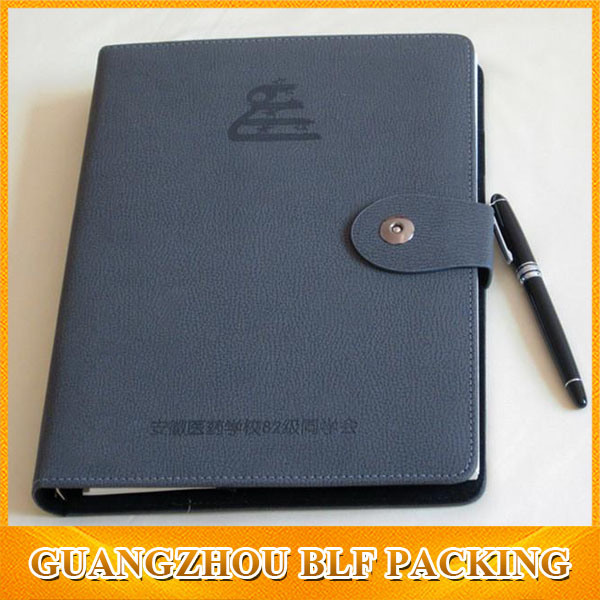 Custom Leather Paper Classmate Notebook ((BLF-F061)