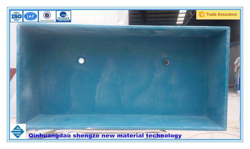 Aquaculture Fiberglass Fish Tank, FRP Breeding Pond for Aquatic Products