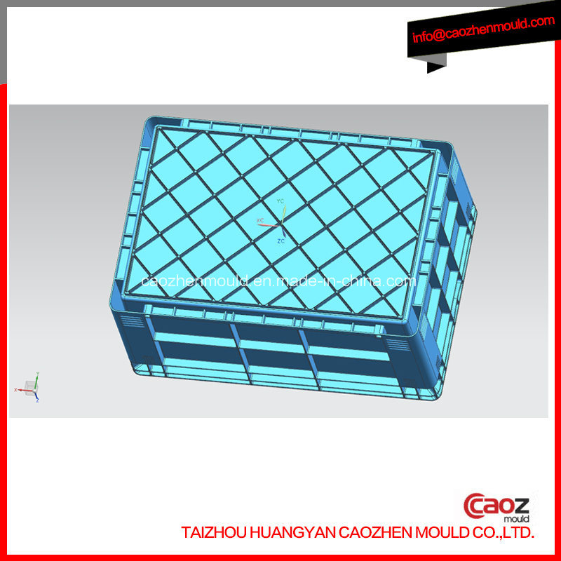 Double Wall Crate Mould with Four B Copper Corners