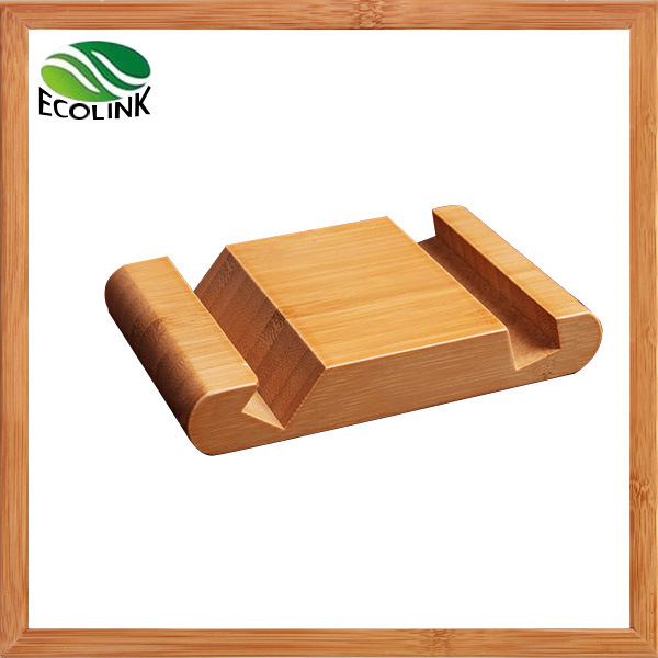 Bamboo Mobile Display Stand / Mobile Phone Holder