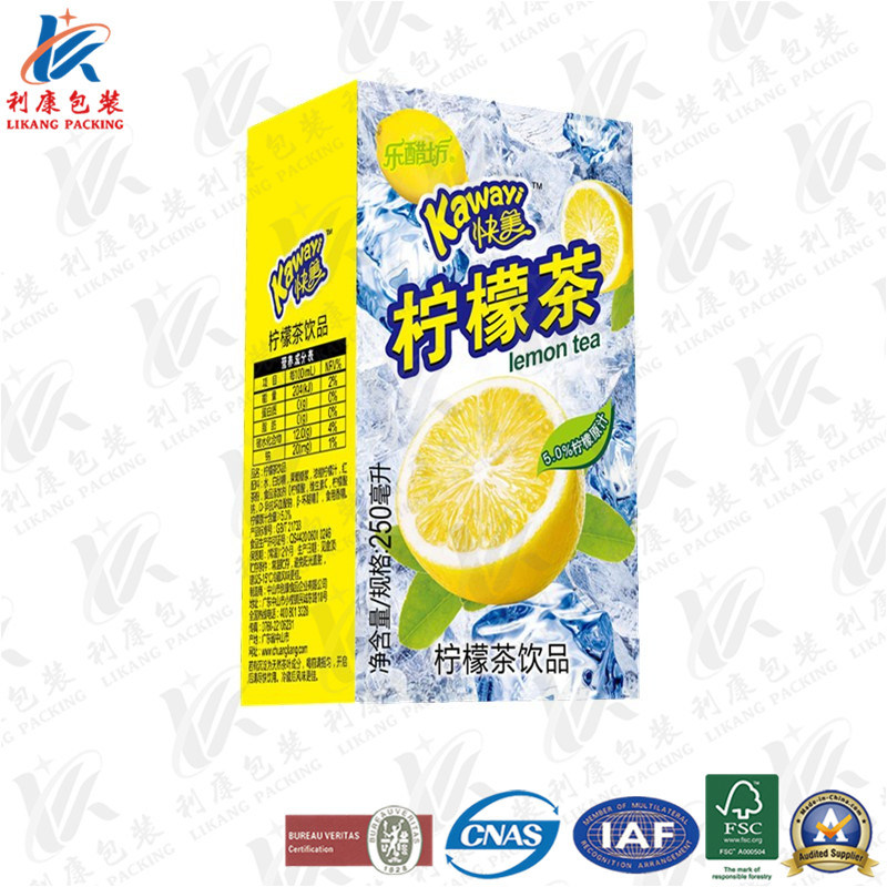 Aseptic Packaging Material for Dairy and Beverage