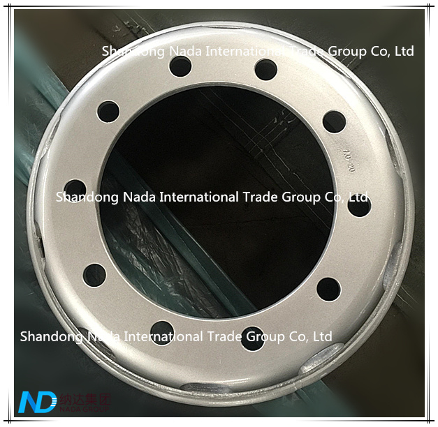 7.00-20 Tube Rim TBR Truck Steel Wheel with TS16949/ISO9001: 2000