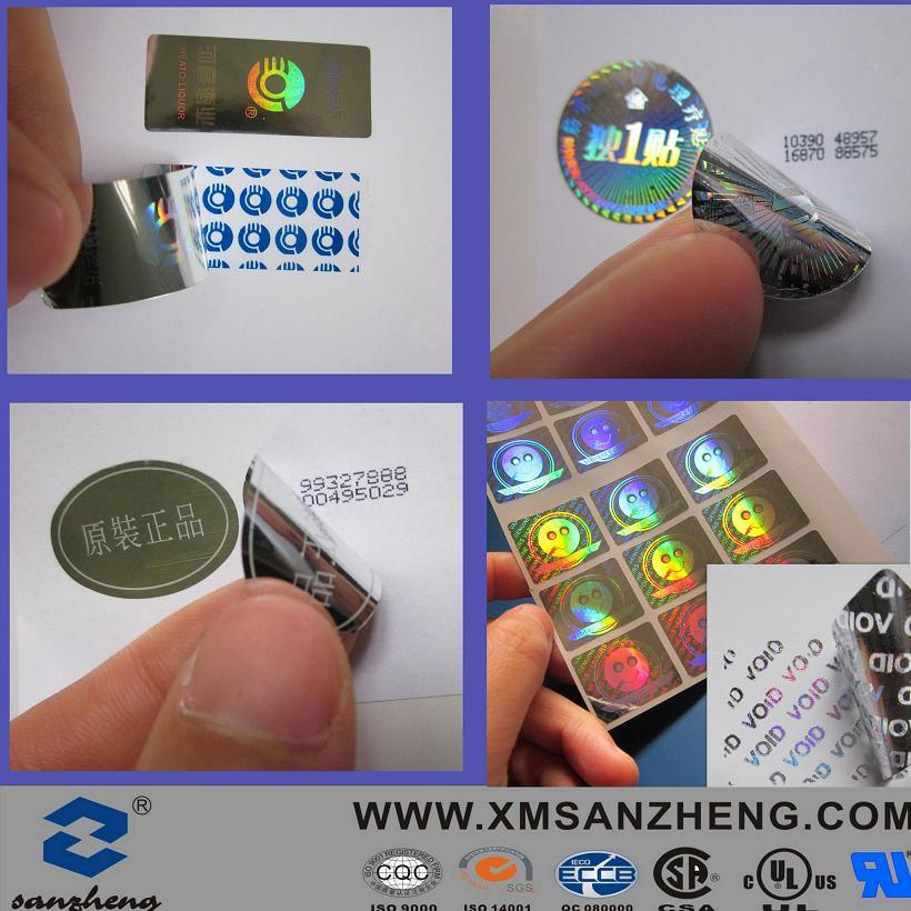 Decal Clear Domed Paper Label Adhesive Barcode Epoxy Printer Qr Stickers