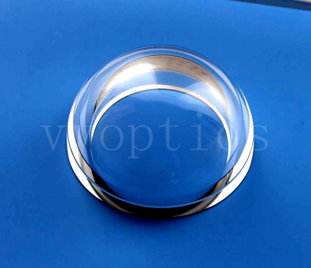 "Optical Dia. 2.25"" H-K9l Dome Lens for Subsea Camera"