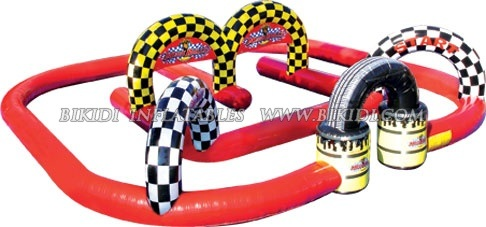 Inflatable Race Track for Go Karts, Sport Games, Mega Rally (B6036