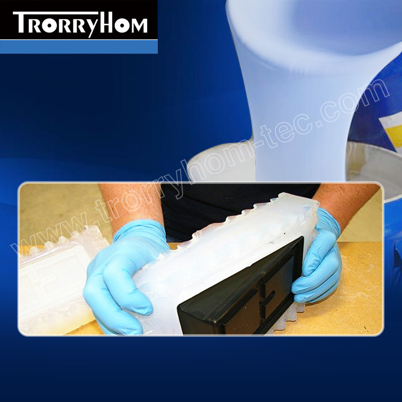 Low Shrinkage Strong Hardness Platinum Silicone Liquid for Rapid Prototyping