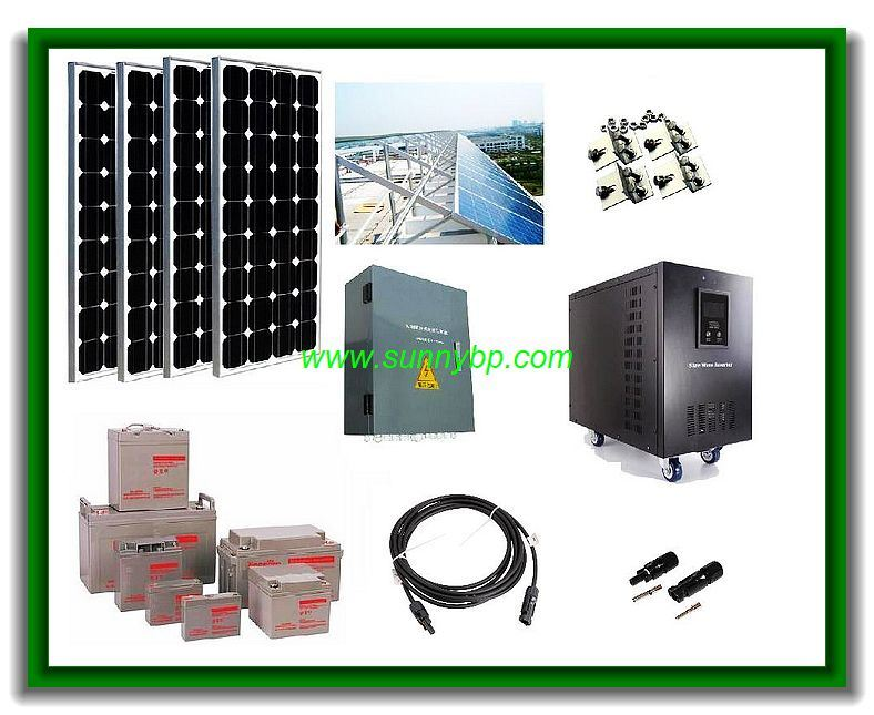 China 3000w Off Grid Solar Power System With Ups Photos