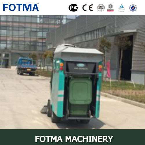Four Wheel Fuel Engine, Outdoor Cleaning Machine