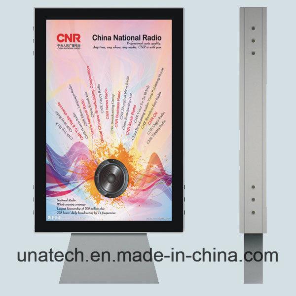 Outdoor Advertising Media Image Promotion Billboard Scrolling Poster Backlit Film PP Paper LED Light Box