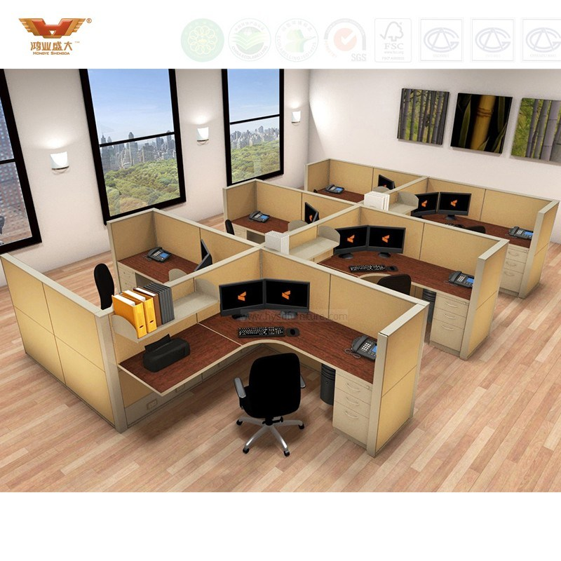 Modern Office Furniture Cubicles Partitions (HY-C1)