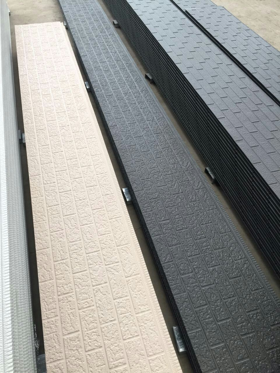 Decoration Insulated PU Wall Panel for Facade