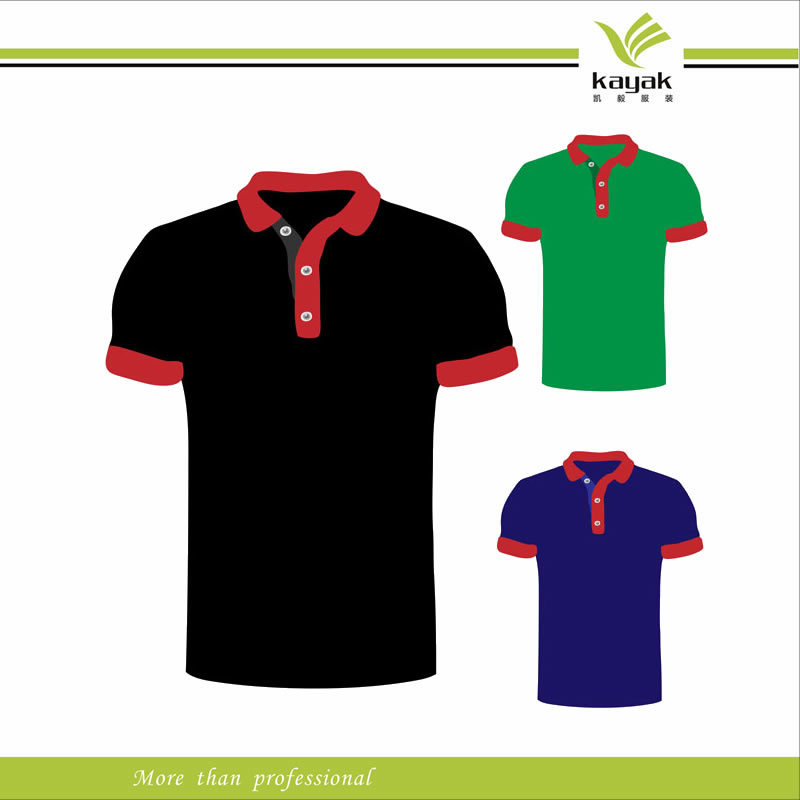 China factory direct sale custom design polyester short for Custom polo shirt manufacturers