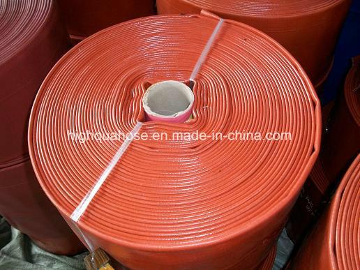 Irrigation Heavy Duty PVC Water Discharge Hose / PVC Layflat Hose